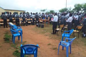 The Water Project: Kaketi Secondary School -  Hygiene Training