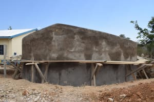 The Water Project: Kaketi Secondary School -  Tank Walls Near Completion