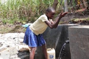 The Water Project: Kalenda A Community, Moro Spring -  Faith Makes A Splash