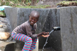The Water Project: Kalenda A Community, Moro Spring -  Having Fun