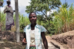The Water Project: Luyeshe Community, Khausi Spring -  Miriam At The Waterpoint