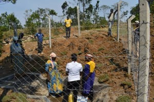 The Water Project: Indulusia Community, Osanya Spring -  Onsite Training At The Spring