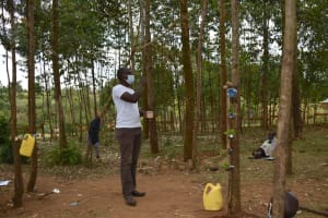 The Water Project: Indulusia Community, Osanya Spring -  Dental Hygiene Session