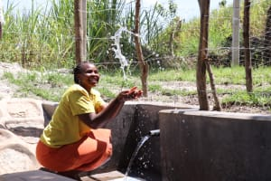 The Water Project: Makhwabuyu Community, Sayia Spring -  Making A Splash
