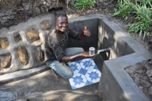 The Water Project: Shianda Community, Panyako Spring -  David Panyako Excited To Access Clean And Safe Water