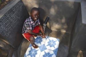 The Water Project: Shianda Community, Panyako Spring -  John Happy At The Spring