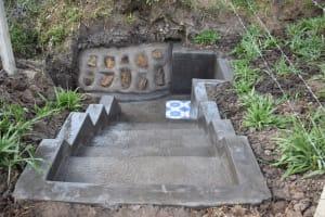 The Water Project: Shianda Community, Panyako Spring -  Stairs Leading To Panyako Spring