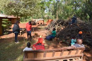 The Water Project: Shianda Community, Panyako Spring -  Building A Tippy Tap For Handwashing