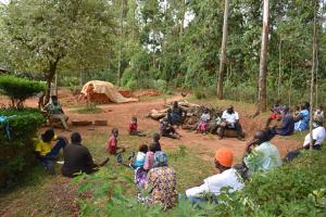 The Water Project: Shianda Community, Panyako Spring -  Training Session