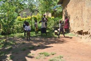 The Water Project: Shivagala Commmunity, Wekoye Spring -  Children Playing
