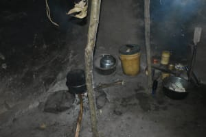 The Water Project: Shivagala Commmunity, Wekoye Spring -  Inside The Kitchen
