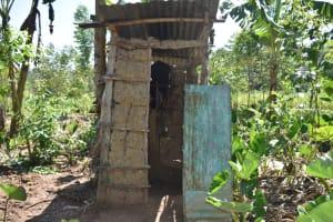 The Water Project: Shivagala Commmunity, Wekoye Spring -  Latrine
