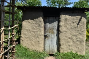 The Water Project: Shivagala Commmunity, Wekoye Spring -  Outside The Kitchen