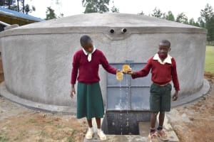 The Water Project: Wavoka Primary School -  Celebrating At The Water Point