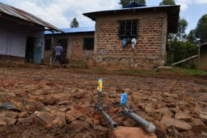 The Water Project: Friends Musiri Secondary School -  Tap And Drainage Pipes Set