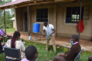 The Water Project: Friends Musiri Secondary School -  Kitchen Gardening Demonstration