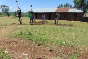 The Water Project: Mwikhupo Primary School -  Site Excavation Begins