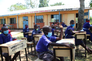 The Water Project: Mwikhupo Primary School -  Active Participation