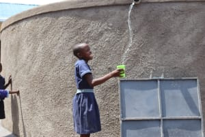 The Water Project: Mwikhupo Primary School -  Water Celebrations At The Tank