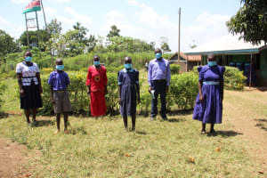 The Water Project: Mwikhupo Primary School -  Health Club Elected Representatives