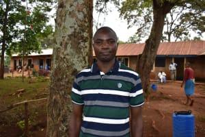 The Water Project: Kitagwa Primary School -  Teacher Luke Otambo