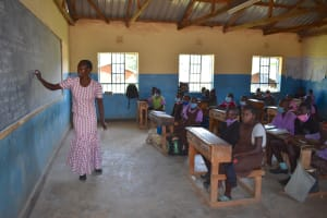 The Water Project: Bahati ADC Primary School -  Class In Session