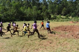 The Water Project: Bahati ADC Primary School -  Pupils Playing