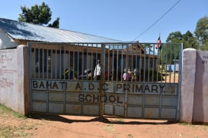 The Water Project: Bahati ADC Primary School -  School Gate