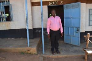 The Water Project: Bahati ADC Primary School -  Teacher Boniface Musimbi