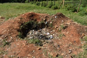 The Water Project: Bahati ADC Primary School -  Garbage Pit