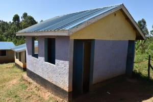 The Water Project: Bahati ADC Primary School -  Pit Latrine Block