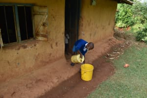 The Water Project: Itabalia Primary School -  Collecting Water From Home