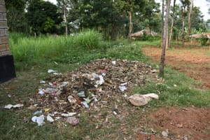 The Water Project: Itabalia Primary School -  Garbage Pit