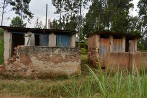 The Water Project: Itabalia Primary School -  Latrine Blocks