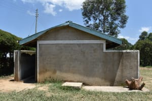 The Water Project: Gimariani Primary School -  Latrine Block