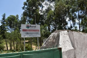 The Water Project: Gimariani Primary School -  School Sign Post