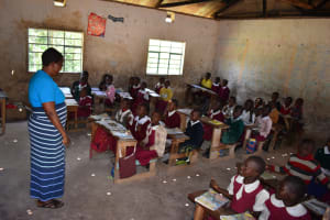 The Water Project: Gimariani Primary School -  Students In Class
