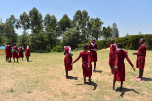 The Water Project: Gimariani Primary School -  Students On The Playground