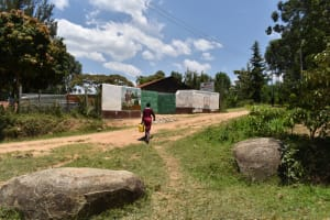The Water Project: Gimariani Primary School -  Carrying Water To School From Home