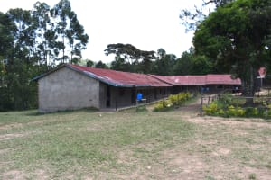 The Water Project: Gimariani Primary School -  Classrooms With Blue Handwashing Stations Outside