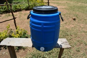 The Water Project: Gimariani Primary School -  Handwashing Facility