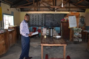 The Water Project: Gimariani Primary School -  Teacher In The School Library