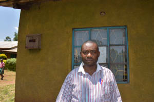 The Water Project: Itieng'ere Primary School -  Teacher Levi Wandera