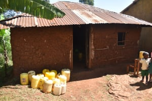 The Water Project: Itieng'ere Primary School -  Water Storage Containers