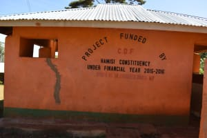 The Water Project: Itieng'ere Primary School -  Latrine Blocks