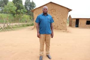 The Water Project: Muriola Primary School -  Headteacher Evans Mmera