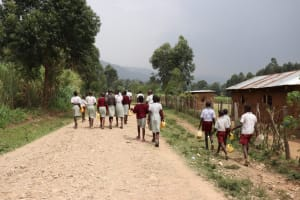 The Water Project: Muriola Primary School -  On The Way To The Stream