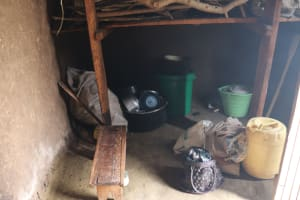 The Water Project: Muriola Primary School -  Storage Of Utensils In The Kitchen