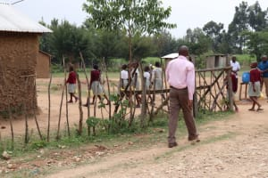 The Water Project: Muriola Primary School -  Arriving At School With Water