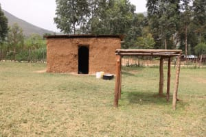 The Water Project: Muriola Primary School -  Dishrack In Front Of Kitchen
